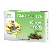 Масло кедровое Биоконтур, 60 капс