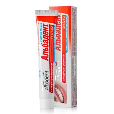 Зубная паста Альбадент с энзимом, 105 г