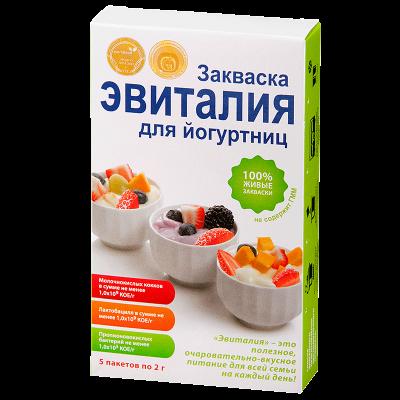 Закваска для йогуртниц 2,0, Эвиталия