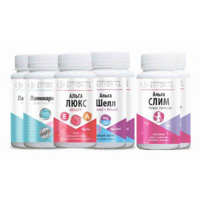 Комплекс Витаминов (УнИК Литораль): БАД комплекс для женского здоровья, курс на 30 дней