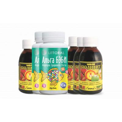 Витаминный комплекс УнИК Литораль БАД если ребенок часто болеет