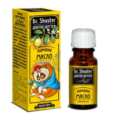 Масло эфирное Dr. SHUSTER Лимона 10 мл