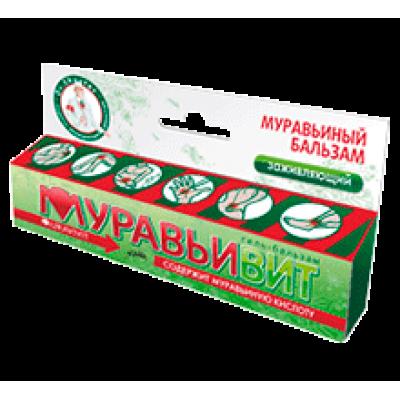 Муравьивит гель-бальзам заживляющий (Shuster) 44мл