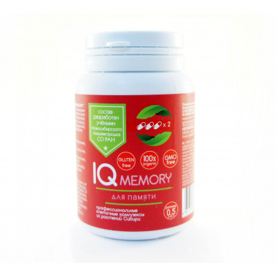 "Капсулы для улучшения памяти ""IQ memory"" №84 (Сиб-КруК)"