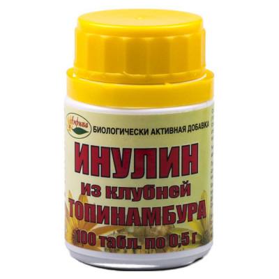 Инулин из клубней топинамбура, 100 таб. 0,5г