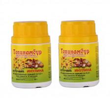Топинамбур, 0.5 г 80 таблеток источник инулина - 2шт