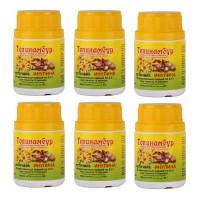 Топинамбур, 0.5 г 80 таблеток источник инулина - 6шт
