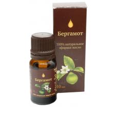 Эфирное масло Бергамота (Аптечный союз), 10мл