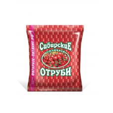 Отруби перемолотые Сибирская Клетчатка Пшеничные с клюквой, Биокор 200 гр.