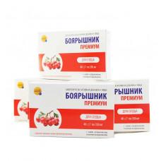 Витамины для сосудов - боярышник премиум, 40 капс. - 10шт