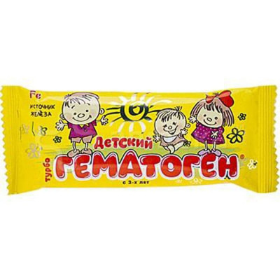 Детский гематоген Турбо, 30г