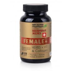 Капсулы для молочных желез, FEMALE+, Herbs, 108 капс, Сиб-Крук
