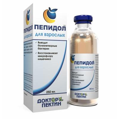 Пепидол для взрослых, 5% 250 мл.