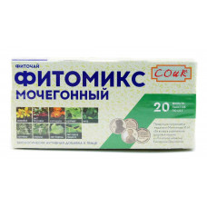 Фиточай мочегонный, чай 20ф/п, СОиК «Фитомикс»