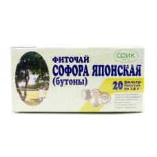 Софора японская (бутоны), 20 фильтр пакетов СОИК