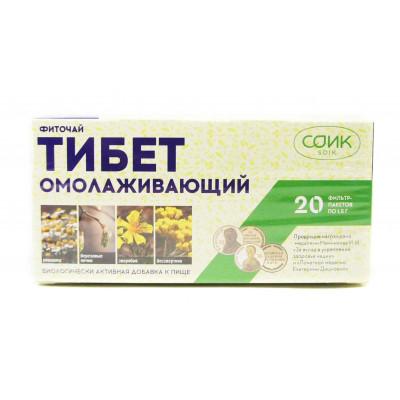 Фиточай омолаживающий «Тибет», чай СОиК, 20 ф/п